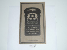 1915 A Book of Symbols for Camp Fire Girls