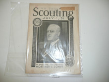1931, July Scouting Magazine Vol 19 #7