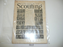 1930, August Scouting Magazine Vol 18 #8