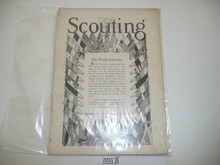 1929, March Scouting Magazine Vol 17 #3, World Jamboree Special