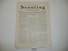 1929, August 2 Scouting Magazine World Jamboree Edition 3rd Issue