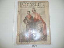 1918 February Boys' Life Magazine
