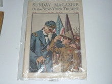 1912, May 26 Sunday Magazine of the New York Tribune With Article and Cover Honoring the Boy Scouts