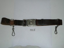 Early Girl Guide Belt with Metal Buckle Complete