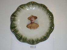 Baden Powell Scalloped Plate