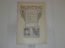 Painting Merit Badge Pamphlet, 1924 Printing