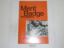 1979 Boy Scout Requirements Book, 2-79 Printing