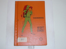 Swimming Library Bound Merit Badge Pamphlet, 4-77 Printing