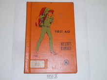 First Aid Library Bound Merit Badge Pamphlet, 3-76 Printing