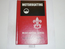 Motorboating Library Bound Merit Badge Pamphlet, 6-66 Printing