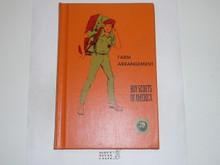 Farm Arrangement Library Bound Merit Badge Pamphlet, 2-72 Printing