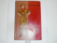 Salesmanship Library Bound Merit Badge Pamphlet, 7-40 Printing