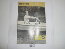 Rowing Merit Badge Pamphlet, 4-78 Printing