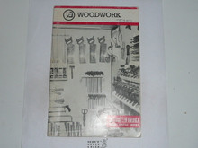 Woodwork Merit Badge Pamphlet, 10-83 Printing