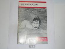 Swimming Merit Badge Pamphlet, 4-81 Printing