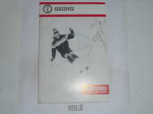 Skiing Merit Badge Pamphlet, 4-87 Printing