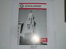 Scholarship Merit Badge Pamphlet, 10-89 Printing