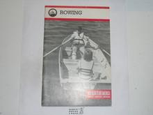 Rowing Merit Badge Pamphlet, 4-85 Printing