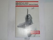 Rifle and Shotgun Shooting Merit Badge Pamphlet, 10-81 Printing
