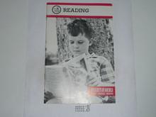 Reading Merit Badge Pamphlet, 1-88 Printing
