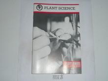 Plant Science Merit Badge Pamphlet, 9-86 Printing