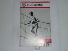 Pioneering Merit Badge Pamphlet, 1-84 Printing
