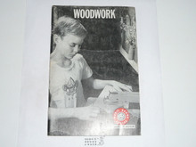 Woodwork Merit Badge Pamphlet, 3-71 Printing