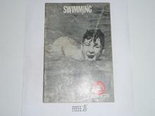 Swimming Merit Badge Pamphlet, 3-68 Printing