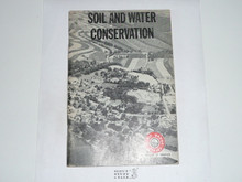 Soil and Water Conservation Merit Badge Pamphlet, 12-68 Printing