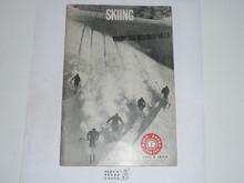Skiing Merit Badge Pamphlet, 11-68 Printing
