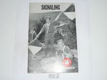 Signaling Merit Badge Pamphlet, 3-72 Printing