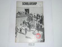 Scholarship Merit Badge Pamphlet, 2-71 Printing