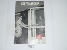 Salesmanship Merit Badge Pamphlet, 1-70 Printing