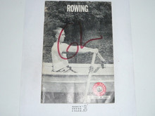 Rowing Merit Badge Pamphlet, 4-68 Printing