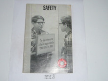 Safety Merit Badge Pamphlet, 8-71 Printing