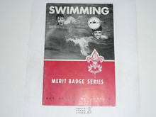 Swimming  Merit Badge Pamphlet, 2-54 Printing