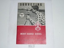 Surveying Merit Badge Pamphlet, 2-68 Printing 10-63 Printing