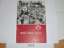 Sheep Farming  Merit Badge Pamphlet, 11-61 Printing