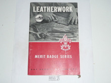 Leatherwork  Merit Badge Pamphlet, 5-51 Printing