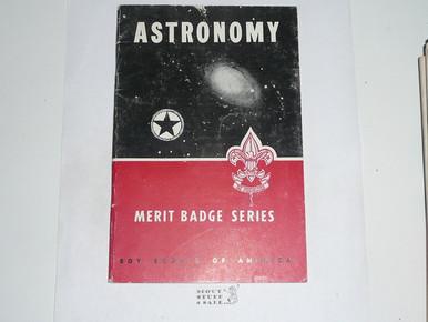 Astronomy Merit Badge Pamphlet 1-59 Printing