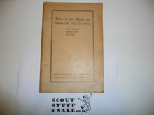 1938 The Guidebook of Senior Scouting, 1-38 Printing