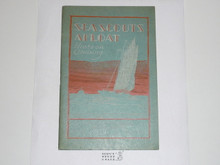 Sea Scouts Afloat, 12-32 Printing, Boy Scout Service Library