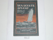 Sea Scouts Afloat, 1931 Printing, Boy Scout Service Library