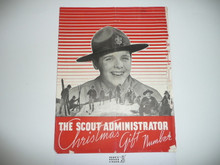 1930's The Scout Administrator Christmas Gift Equipment Catalog