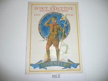1929-1930, October The Scout Executive Equipment Catalog