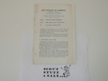 1958 Professional Bulletin, 1959 World Jamboree