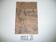 Scouting Memories By J. Rucker Newbery, 1976