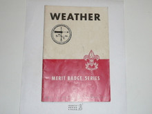 Weather Merit Badge Pamphlet, 9-45 Printing
