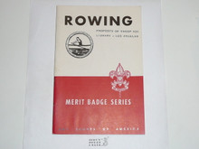 Rowing Merit Badge Pamphlet, 5-47 Printing