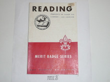 Reading Merit Badge Pamphlet, 1-45 Printing